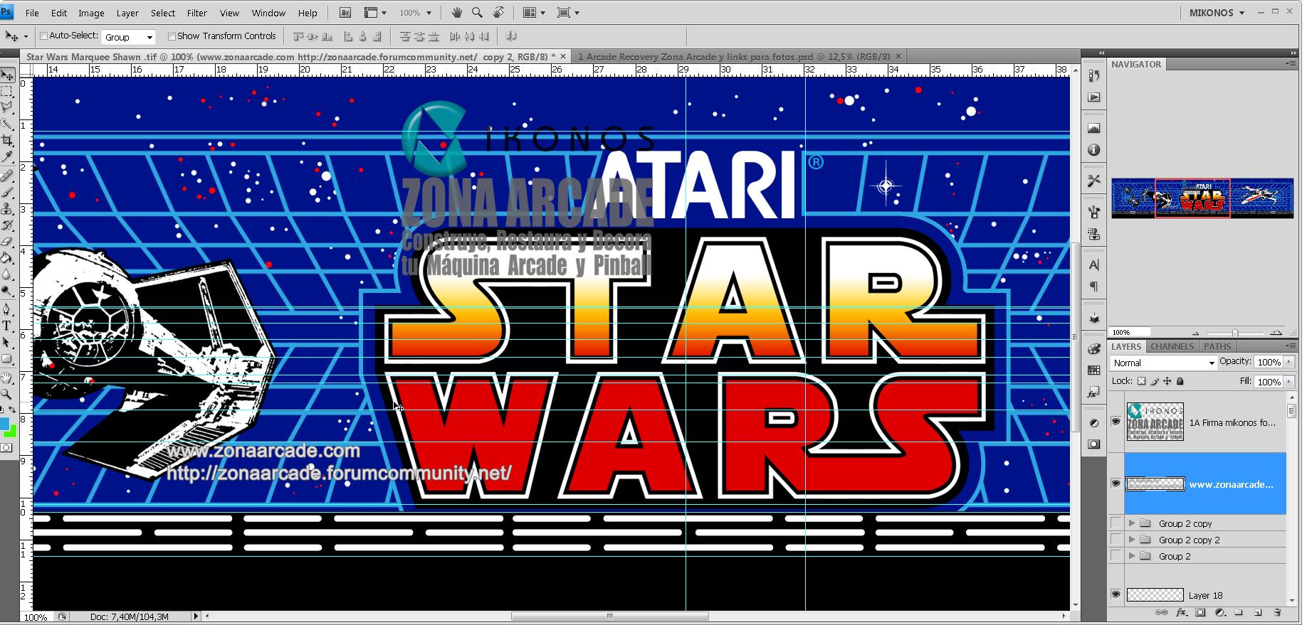 Atari Star Wars Artwork Project For Shawn S Arcade Bartop # Venpermuto Muebles