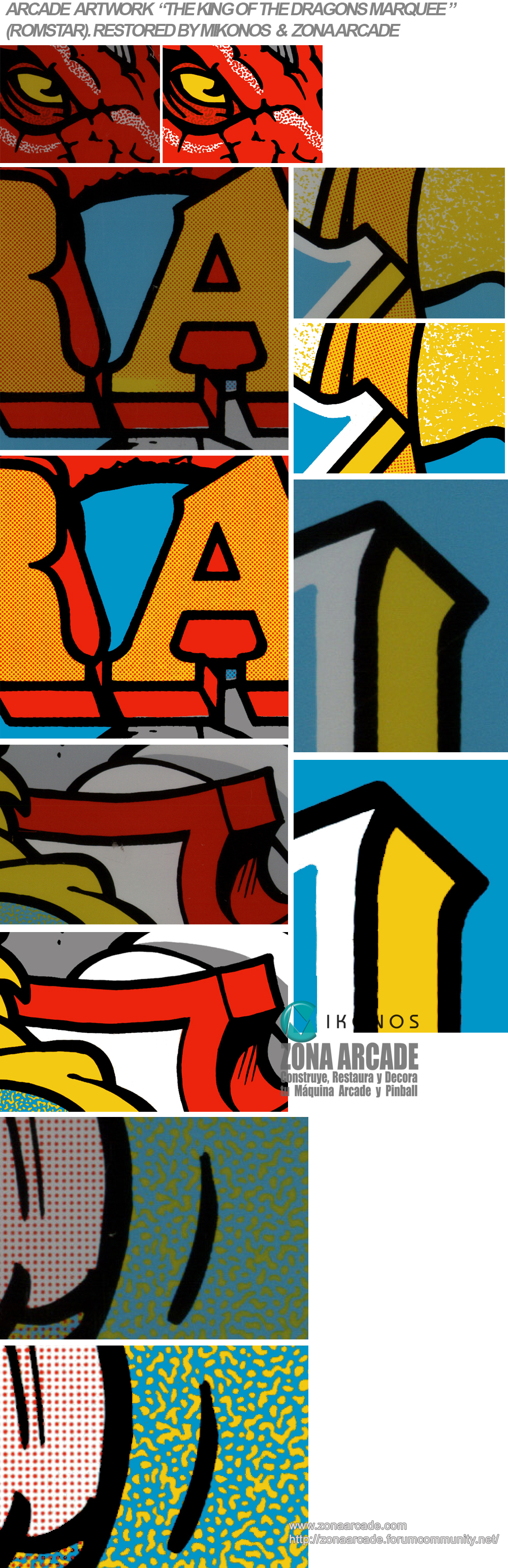 MY CLASSIC ARCADE ARTWORKS RESTORED • MAACA org