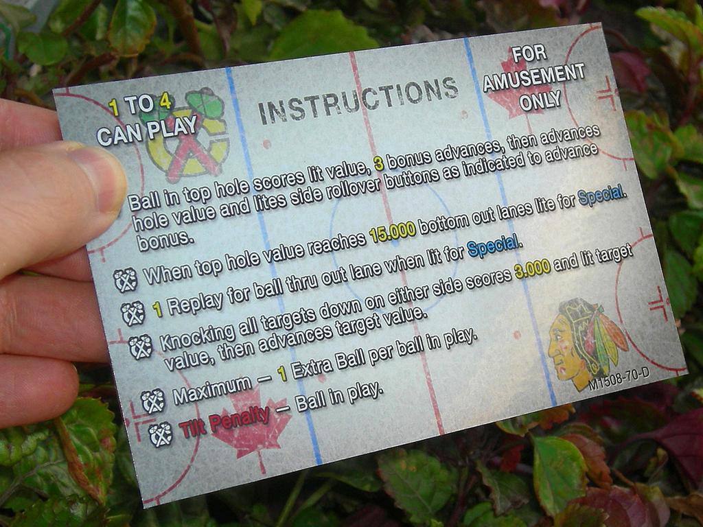 Power Play Pinball Card Customized Rules print3c