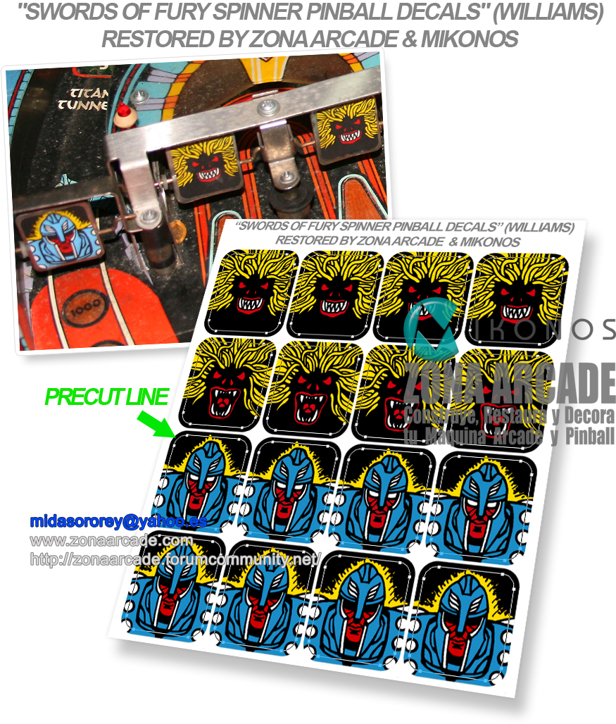 Swords-Of-Fury-Spinner-Pinball-Decals-Restored-Mikonos2